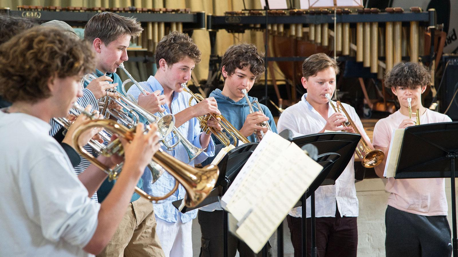 Bedales Jazz Band