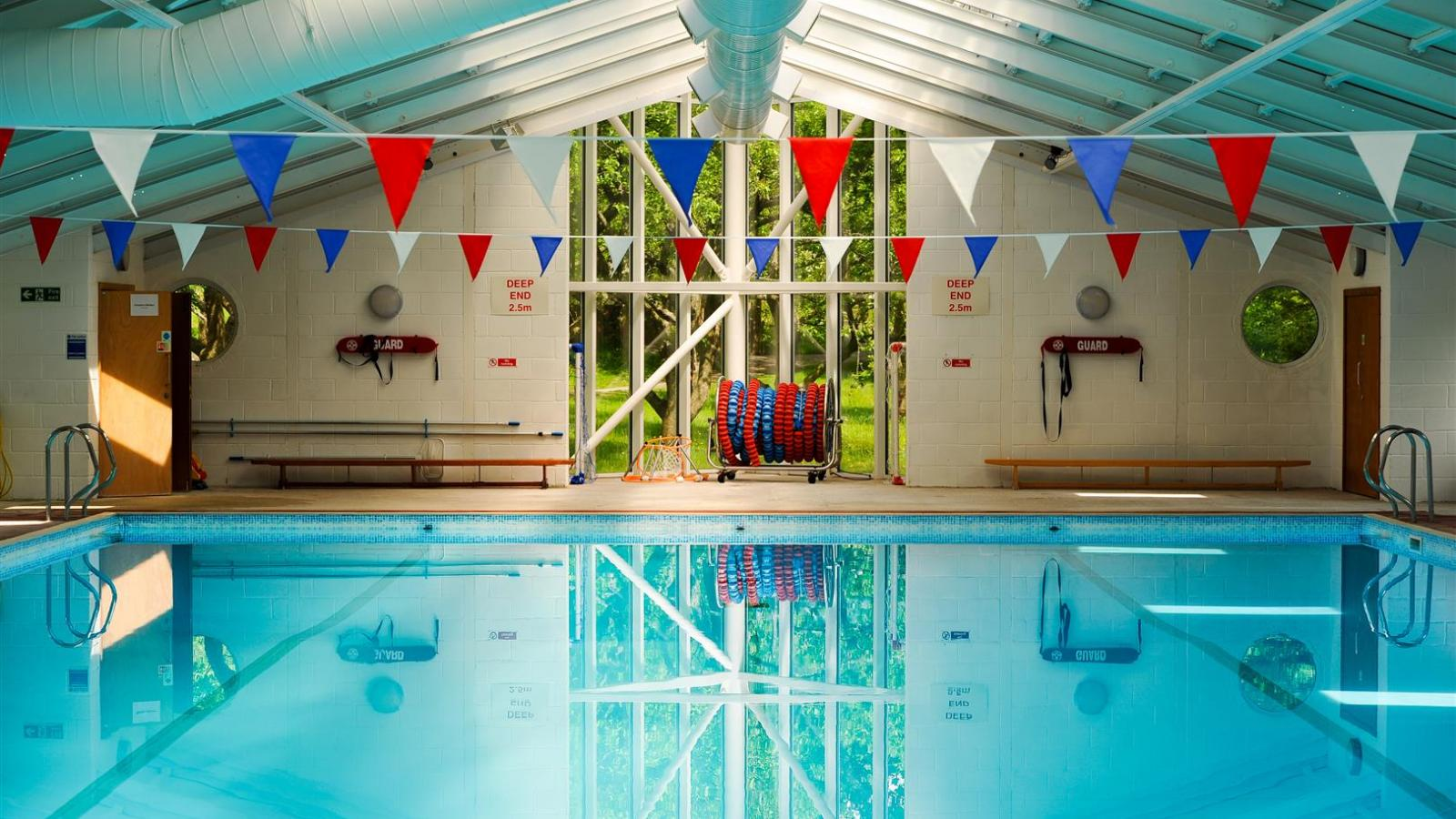 Bedales swimming pool
