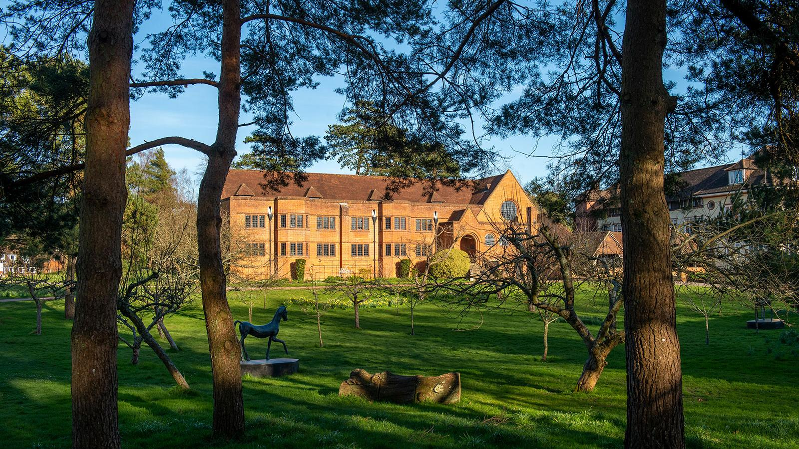 Bedales Orchard, Bedales Memorial Library, Bedales Estate