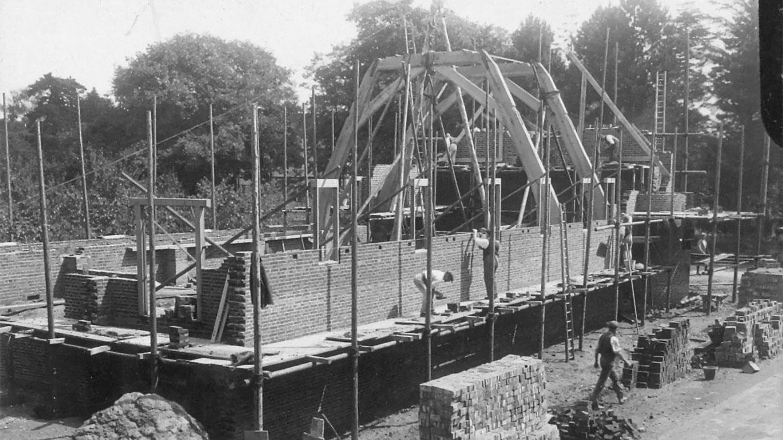 The building of the Lupton Hall