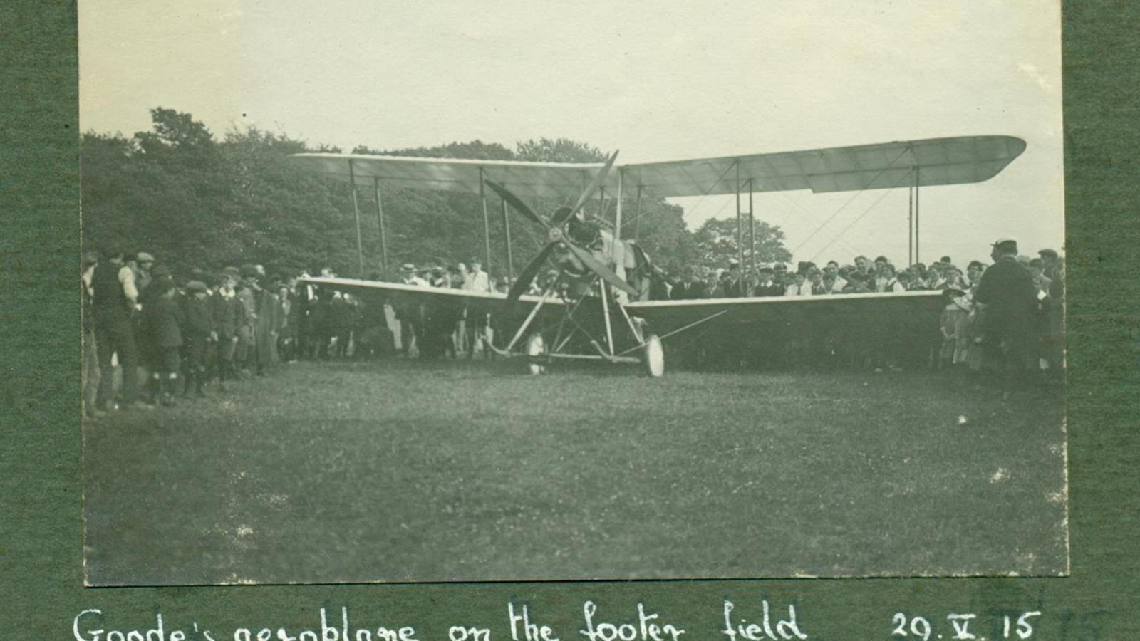 Goode Plane, 1915